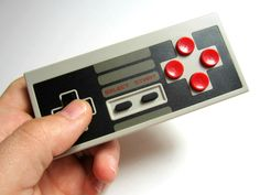 The 8Bitdo Wireless Classic NES Controller. A faithful wireless Bluetooth reproduction of the classic NES gaming pad. For iOS and Android. Works with all games, not just the 8 bit ones.