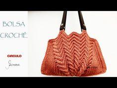 Vintage Crochet, Crochet Top, Chevron Purse, Knitted Bags, Purses And Bags, Needlework, Crochet Patterns, Pouch, Shoulder Bag
