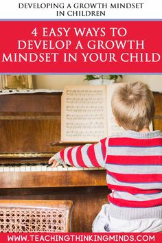 What is a growth mindset? And is it important to develop this in our children? Here are 4 ways you can develop a growth mindset in your children. Educational Activities, Educational Technology, Activities For Kids, Growth Mindset Activities, Learning Through Play, Positive Mindset, Raising Kids, Parenting Advice, Teaching