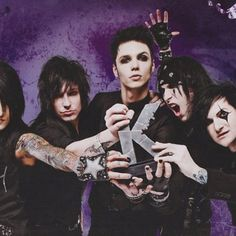 Black Veil Brides at the Kerrang Awards