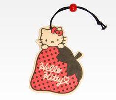 Hello Kitty Air Freshener: Strawberry
