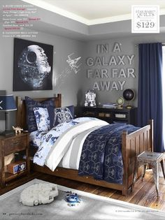 Star Wars bedroom ideas for a small budget