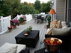 Beautiful Decks Designed by DIY Experts: a target=_blank href=http://www.diynetwork.com/indoors-out/outdoor-party-room/index.htmlFind air times for this episode/a or a target=_blank href=http://www.diynetwork.com/diy-indoors-out-episode/videos/index.htmlwatch Indoors Out online/a From DIYnetwork.com