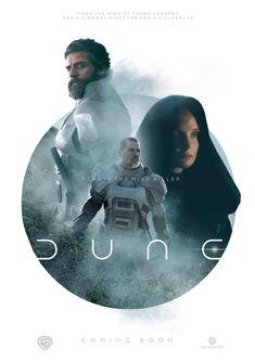 Dune Characters, Dune Film, Dune Art, 1984 Movie, Denis Villeneuve, Poster Series, The Dunes, Triptych, Illustrations