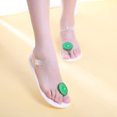beach shoes Picture - More Detailed Picture about Free Shipping New Fashion  Women Shoes Transparent Jelly Sandals Partysu Fruit Clip Toe Sandals Kiwi  Women ... 7b4eaa866