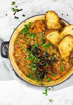 Vegetarian Protein, Vegetarian Recipes, Recipe Cover, Bean Stew, Anti Inflammatory Recipes, Baked Beans, Perfect Food, Chicken Recipes, Cancer