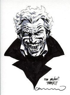 Lee Bermejo - Joker Comic Art