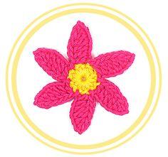 Patrones gratis de Flores a Crochet | PATRONES VALHALLA // Patrones gratis de ganchillo
