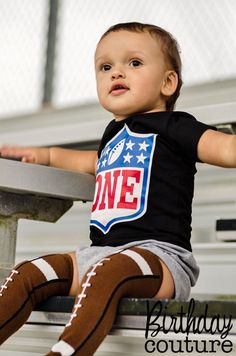 Birthday Rookie Football Themed Shirt or Outfit, NFL Inspired