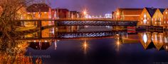 The beautiful Gamle Bybro (Town Bridge) Trondheim  by Aziz_Nasuti