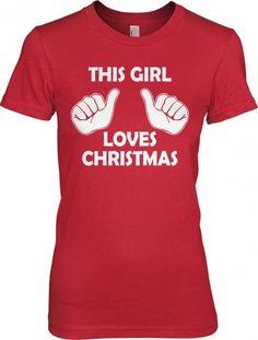 This Girl Loves Christmas!!