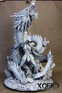 3d Figures, Action Figures, Imprimente 3d, Sculpture Clay, Sculptures, Character Art, Character Design, Marvel Statues, Dragon Warrior