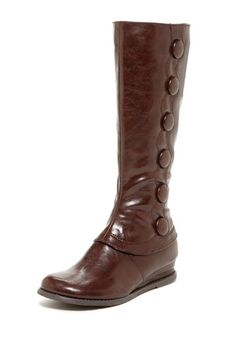 Miz Mooz Blake Knee Length Boot - HauteLook I have a pair of Miz Mooz boots and they are true to size and very comfortable.