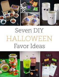 Evermine Halloween Favor Ideas | Evermine Blog | www.evermine.com