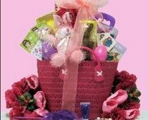 Fill her basket for Easter with spa goodies