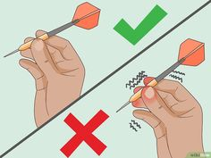 How to Throw Darts (with Pictures) - wikiHow Play Darts, Darts Game, Dartboard Setup, Dart Board Backboard, Rocket Heater, Custom Dart Board, Diy Garage Storage, Steampunk Diy, Steampunk Necklace