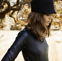 Freja Beha Erichsen for the Reserved Fall 2013/Winter 2014 Campaign