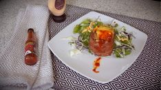 Tulivuoriperunat on hauska ja herkullinen lisuke! #poppamies #savustus #grillaus #maustaminen #ruoka #ruuanlaitto #mauste #chili #chilikastike #habanero #savuchili #scorpio
