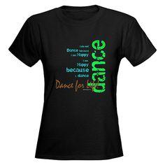 Discount Dance Supply Women Dance for Life T-Shirt