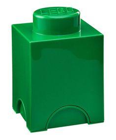 Take a look at this Room Copenhagen Dark Green LEGO 1 x 1 Storage Brick by LEGO Storage on #zulily today!