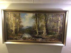 Steinmetz, Paintings, Frame, Home Decor, Brush Strokes, Antique Furniture, Landscape Pictures, Art Prints, Woodland Forest