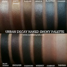 URBAN DECAY NAKED SMOKY PALETTE ($54)  Part #3 of my 'I'm a sucker and I'll buy anything if it's on sale' series. I still can't believe I bought this damn thing.…