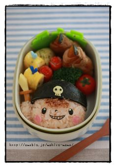 Little pirate bento