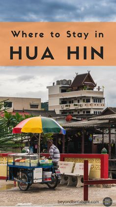 Read this before booking your hotel! #Thailand's classic beach resort town #Huahin has many places to stay - don't choose the wrong one!