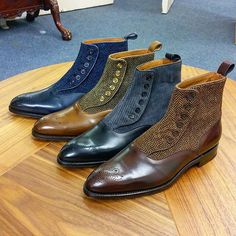 """New members of the family: Button Boots by Justin """"The Shoesnob"""" Fitzpatrick"""