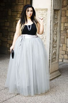 535cedda2e8 plus size princess tulle maxi perfect crystal coons plus size queen Tulle  Skirt Plus Size