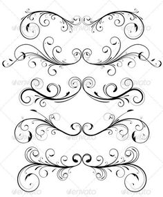 Decorative Elem Flowers Ornamental Ornamental Scro Outline Scroll Tattoo Stock Photos, Pictures, Royalty Free Decorative Elem Flowers Ornamental Ornamental Scro Outline Scroll Tattoo Images And Stock Photography Small Tattoos With Meaning, Cute Small Tattoos, Tattoo Femeninos, Wrap Tattoo, Scroll Tattoos, Art Mignon, Harry Potter Tattoos, Scroll Pattern, Wolf Tattoos