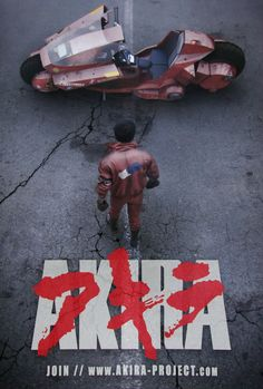 The Akira Project Live Action Poster