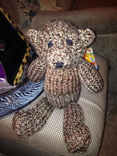 Teddy Bear - Knitting creation by CeraKai | Knit.Community