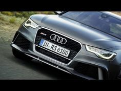 2014 Audi RS 6 on the road