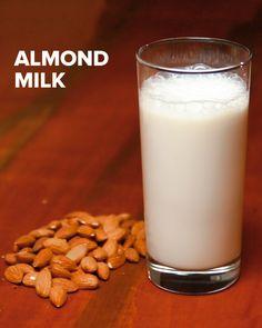"""4 Ways To Make """"Nut Milk"""""""