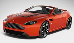 Aston Martin Vantage Roadster - powered by a 5.9-litre 12-cylinder engine producing 381kW.  Limited production run of 101