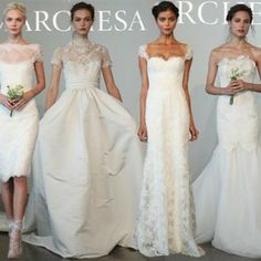 The totally mind-blowing Marchesa Bridal spring/ summer 2015 collection is one of the greatest and the most significant ranges of options in this respect. Marchesa Bridal, Wedding Bridesmaid Dresses, Spring Summer 2015, Brie, Fashion News, Formal Dresses, Image, Collection, Vestidos