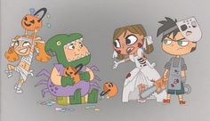 trick or treat? by kikaigaku   Courtney: Owen, that was our candy!  Duncan: Seriously?  Owen: Sorry...