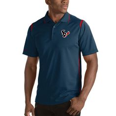 d4be483a6 New Orleans Pelicans Antigua Merit Polo – Navy