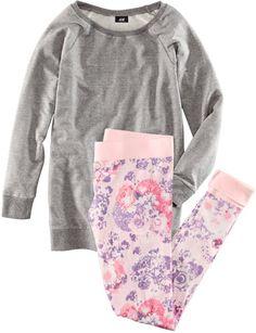 h&m gray pyjamas