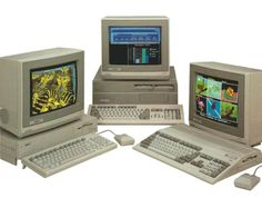Commodore Amiga 1000, my first Amiga in 1986. Amiga 2000, my second Amiga in 1987. In 1993 I switched to an A1200, and in 1995 I moved to an A4000.
