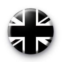 Black Union Jack Button Badges » Kool Badges Dot Com » The home of custom designed 25mm Button Badges & 1 Inch Pins