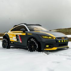 Audi TT Safari in the Snow. Audi TT Safari-Mode Turned On. Maxoomph Car Tuning and Modifications Audi Allroad, Audi Rs3, Audi Kombi, Volkswagen, Audi Sport, Sport Cars, Offroad, Tt Tuning, Sedan Audi