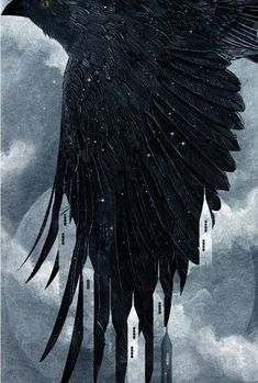 """kat-adara: """" These are the most amazing covers! The cover art is by Jonathan Bartlett and Rich Deas who has done young adult book covers like these as well as the Grisha Trilogy covers. Fanart, Dark Fantasy, Fantasy Art, Crow Books, Crooked Kingdom, The Grisha Trilogy, Raven Art, Six Of Crows, Book Aesthetic"""