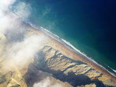 Dour Ghattee Rock Formations along the Gwadar Coast Pakistan as Seen from a Plane | By Batool Nasir [2048x1536] http://ift.tt/2y2JKY9