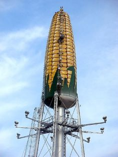 Seneca water tower from Rochester! :) not wacky at all it's sweet...sweet corn! ;)