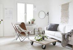 Interieurs: Wit, hout & grijstinten