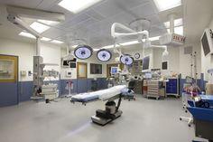 Hospital operating room.