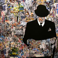 """Saatchi Online Artist Tehos Frederic CAMILLERI; Painting, """"Behind The Wall SOLD"""" #art"""