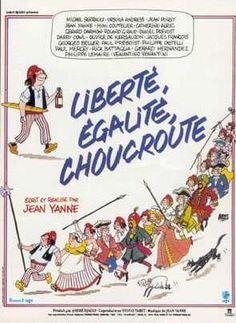 Liberté, Égalité, Choucroute un film de jean yanne avec ursula andress - jean poiret - michel serrault - jean yanne